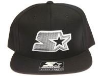 Starter Carbon Fiber Logo Black STARTER Snapback Hat