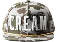 Wu Tang Clan CREAM Desert Camo Wu-Tang Brand Snapback Hat