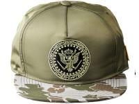 Wu Tang Commander Desert Camo Underbrim Olive Nylon Snapback Hat