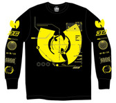 Wu Tang Clan 36 Chambers Long Sleve Black T-Shirt