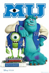 Monsters University Mike & Sully Blockmount Wall Hanger Picture