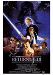 Return Of The Jedi Movie Blockmount Wall Hanger Picture
