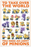 Minion World Takeover Blockmount Wall Hanger Picture