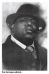The Notorious B.I.G. Blockmount Wall Hanger Picture