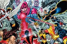 X-Men Battle Blockmount Wall Hanger Picture