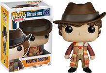 Dr Who 4th Doctor - POP! Television Vinyl Figure