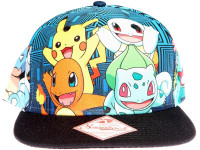 Pokemon Group - Officially Licensed Pokemon Snapback Hat