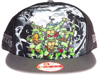 Teenage Mutant Ninja Turtles Group TMNT New Era Cartoon Snapback Hat