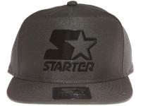 Starter Black Metal Logo STARTER Black Snapback Hat