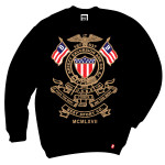 Breezy Excursion USBE Chrest Black Crewneck Jersey