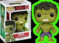 Avengers 2 - Hulk Gamma Glow Pop! Heroes Vinyl Figure
