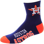 Houston Astros Team Color Block MLB Socks – Navy Blue