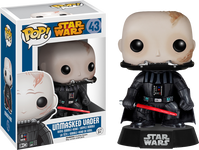 Darth Vader Unmasked - Star Wars Pop! Vinyl Figure