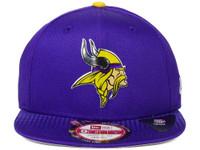 Minnesota Vikings New Era 2015 NFL Draft 9FIFTY Original Fit Snapback Hat