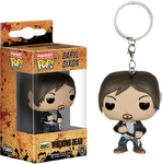 Daryl Dixon Pocket Pop Keychain - The Walking Dead - POP! Television Vinyl Figure