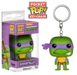 Donatello Pocket Pop Keychain - TMNT - POP! Heroes Vinyl Figure