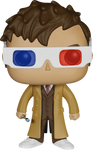 Doctor Who - 10th Doctor 3D Glasses Pop! Vinyl Figure