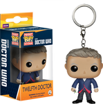 Doctor Who - 12th Doctor Pop! Vinyl Keychain