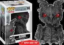 Elder Scrolls V: Skyrim - Alduin Pop! Games Vinyl Figure