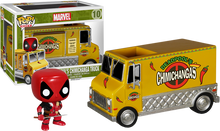 Deadpool - Chimichanga Truck - Pop! Vinyl Rides Figure