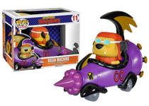 Hanna-Barbera Mean Machine Vehicle with Goggled Muttley Figure Pop! Vinyl Rides Figure