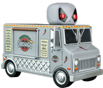 Deadpool - X-Force Chimichanga Truck - SDCC Exclusive - Pop! Vinyl Rides Figure