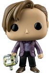 Doctor Who 11th Doctor with Cyberman - SDCC Exclusive - POP! Television Vinyl Figure