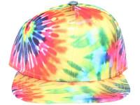 Tie Dye Starburst Multi Colour Blank Unbranded Snapback Hat