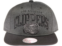 Los Angeles Clippers Grey Nylon Arch Mitchell & Ness Snapback Hat