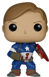 Captain America Unmasked Exclusive - Avengers 2 - Pop! Vinyl Figure