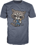 Rocket with Groot - Guardians of the Galaxy - Pop T-Shirt