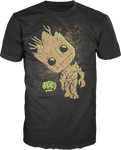 Groot - Guardians of the Galaxy - Pop T-Shirt