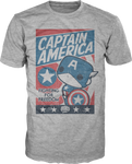Captain America - Marvel - Pop T-Shirt