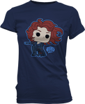 Black Widow - Avengers - Womens Pop T-Shirt