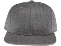 Core Grey Plain / Blank Unbranded Snapback Hat