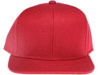 Core Maroon Plain / Blank Unbranded Snapback Hat