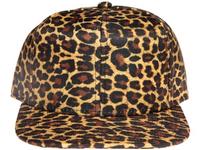 Leopard Print Blank / Plain Unbranded Snapback Hat