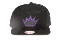 Sacramento Kings Suede Underbrim Mitchell & Ness Snapback Hat