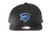 OKC Suede Underbrim Mitchell & Ness Snapback Hat