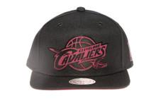 Cleveland Cavaliers Suede Underbrim Mitchell & Ness Snapback Hat