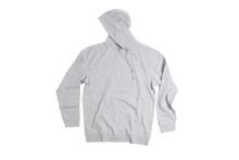 Starter Grey Blank / Plain Hoodie Jersey