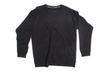 Starter Black Blank / Plain Crewneck Jersey