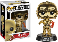 C-3PO Chrome Episode 7 - Star Wars - Pop! Movies Vinyl Figure