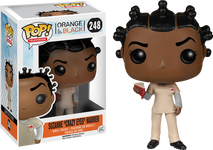 Crazy Eyes with Pie - Orange is the New Black - Pop! Television Vinyl Figure