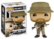 CAPT. John Price - Call of Duty Ghosts - Pop! Games Vinyl Figure