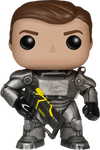 Fallout - Power Armour Unmasked NYCC Pop! Games Vinyl Figure