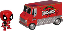 Deadpool - Red Chimichanga Truck - NYCC Exclusive - Pop! Vinyl Rides Figure