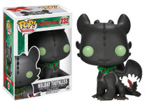 Christmas Holiday Toothless How to Train Your Dragon 2 - Pop! Movies Vinyl Figure
