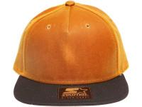 Starter Blank Khaki Brown 2-tone Beeswax Lurcher Snapback