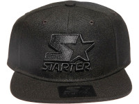 Blackout Logo STARTER Black Snapback Hat